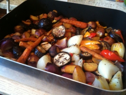 farm mark roasted veggies full pot