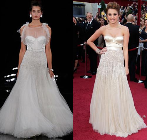 Wedding Gown Bra: Carrie Underwood's Monique Lhuillier Wedding Gown: Is A