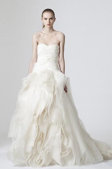 Get Chelsea Clinton's Vera Wang Wedding Dress for Less | good taste