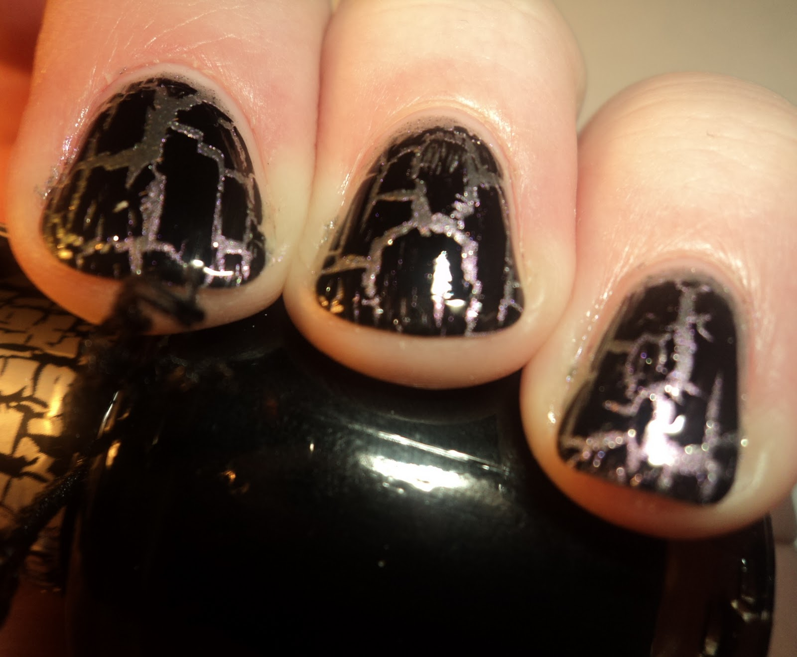 Did Katy Perry Nail It with her new OPI Black Shatter Nail Polish ...