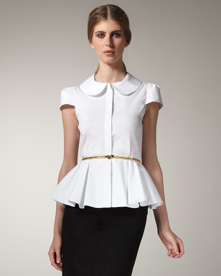 Find great deals on eBay for white peplum shirt. Shop with confidence.
